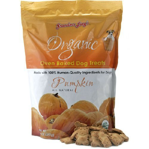 Grandma Lucy's Organic Oven Baked Pumpkin Dog Treats, 14oz by Grandma Lucy's