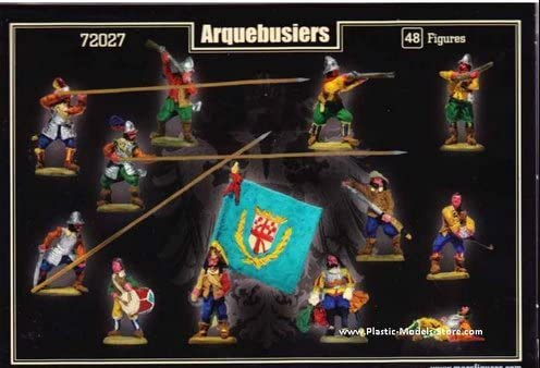 Thirty Years War - 1:72-72027 Mars Arquebusiers