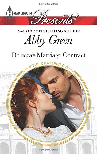 book cover of Delucca\'s Marriage Contract