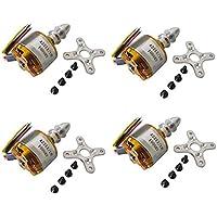 powerday XXD A2212 1000KV Brushless Motor for X525 X450 Quadcopter Multirotor Hexacopter 4pcs