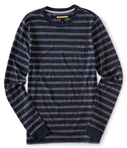 Blue Striped Ls Shirt - 9