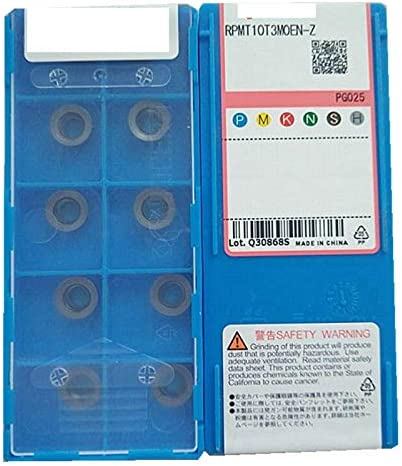 10Pcs Gaobey RPMT10T3MOEN-Z PG025 CNC Carbide Inserts