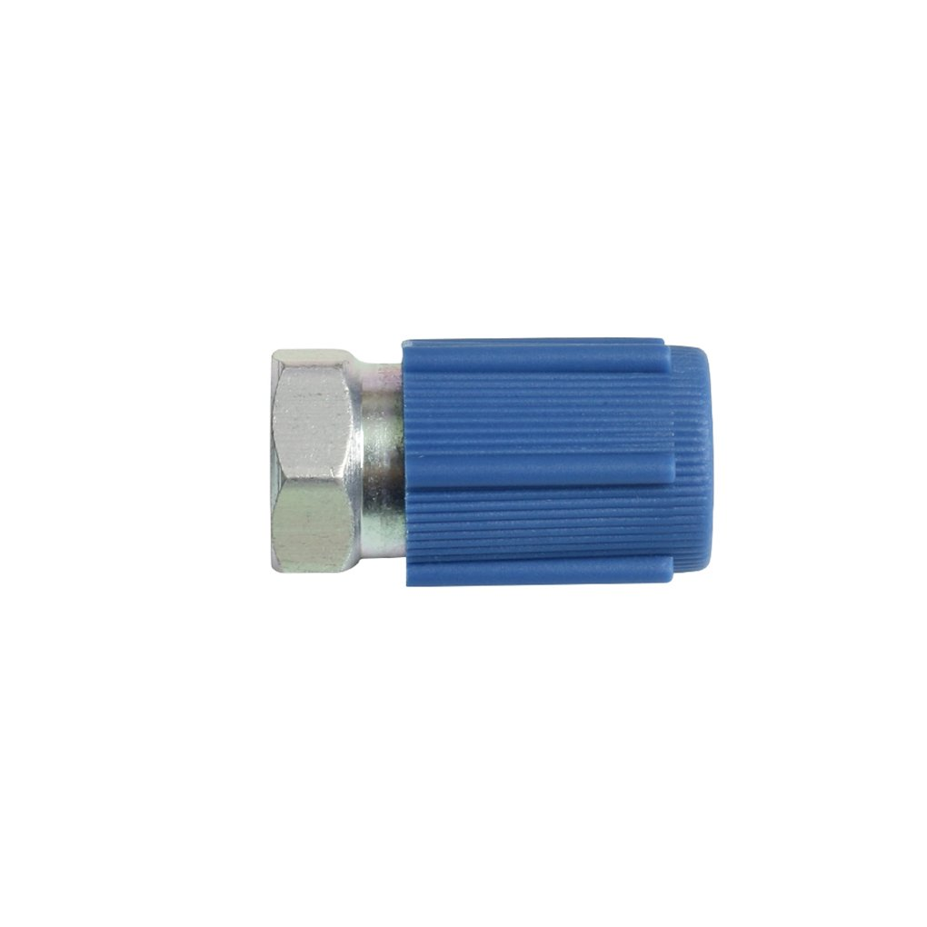 A/C Pro R-12 to R-134a 7/16'' Low Side Port Retrofit Valve Car Internal Accessories by WeiLiQi (Image #1)