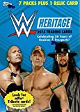 Topps 2017 Wwe Heritage Wrestling Blaster Box, Black, 3'' x 5''