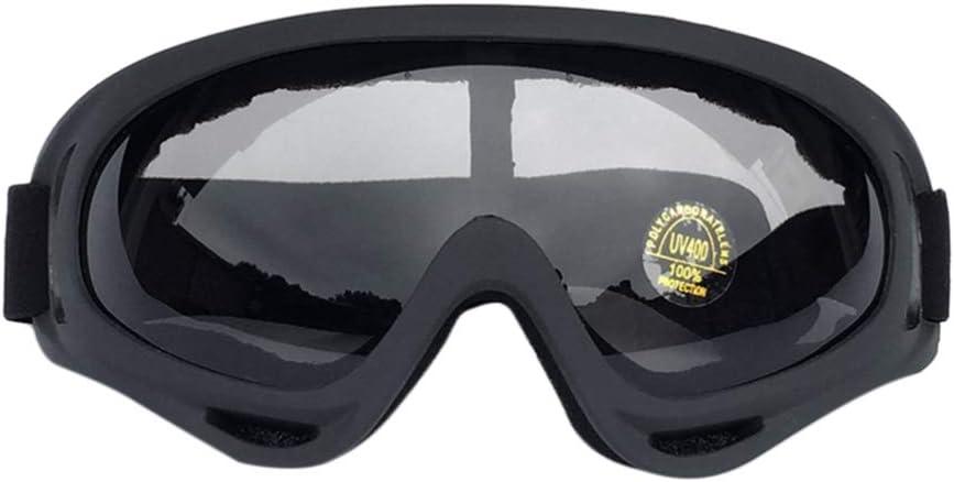 CLISPEED Gafas Protectoras Gafas Gafas de Seguridad Lentes Transparentes Correa Elástica Gafas para Trabajos de Laboratorio de Tiro de Construcción