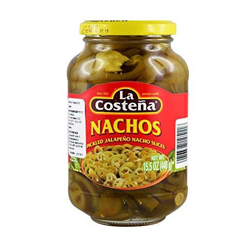 La Costena Pickled Jalapeno Nacho Slices (Case of 12)