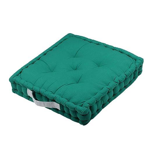 Gadget et Bazar - Cojín de Suelo (45 cm), Color Verde ...