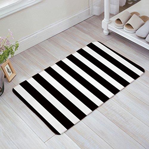 Infinidesign Welcome Doormat Kitchen Floor Bath Entrance Mat Rug Indoor/Front Door Thin Mats Rubber Non Slip 32