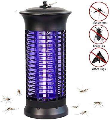 NoBug Bug Zapper Electric Indoor Insect Killer Suspensible UV Light Mosquito Killer Bug Fly Pests Attractant Trap Zapper Lamp 1000V Grid  Home Bedroom,Kitchen, Office(Black)
