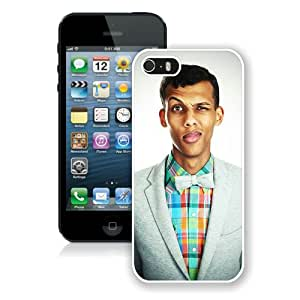 Excellent protection Stromae White Cover Case For iPhone 5 5S