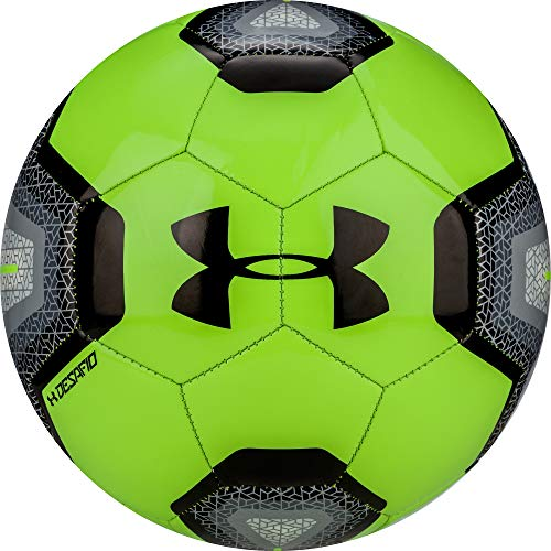 Under Armour DESAFIO 395 Soccer Ball, Size 4, Lime Light (Soccer Ball Size 4 Pack)