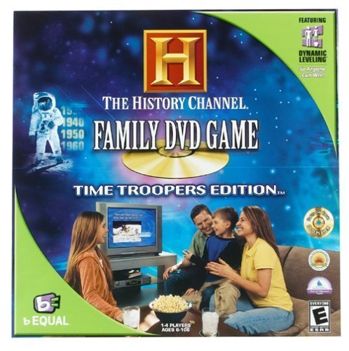 The History Channel Family DVD Game: Time Troopers Edition by Specialty Board Games by Specialty Board Games