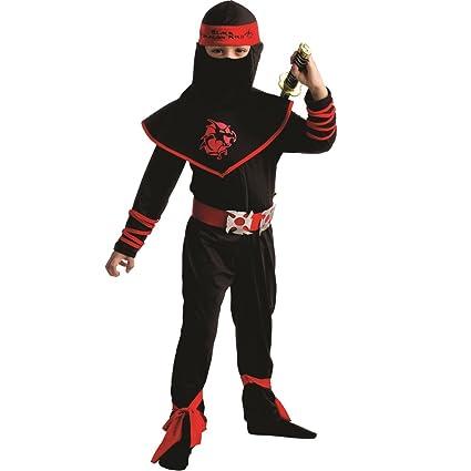 Dress Up America Traje de Guerrero Ninja de niños: Amazon.es ...