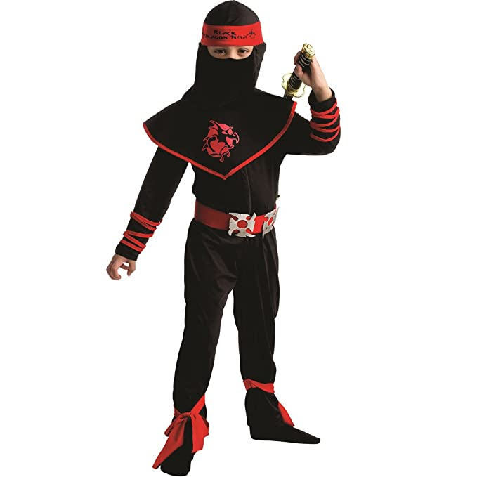 Dress up America Traje de Guerrero Ninja de niños: Amazon.es ...