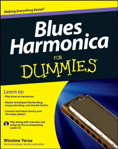 Blues Harmonica For Dummies (Support Harmonica)