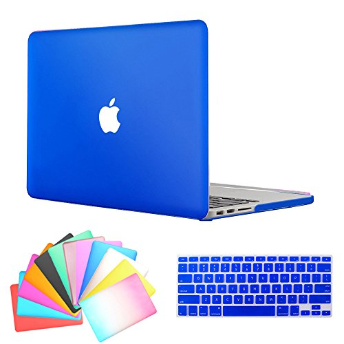 MacBook Air 13 Inch Case,Anrain AIR 13-inch Rubberized See Through Hard Shell Snap On Case Cover with Keyboard Cover For Apple MacBook Air 13.3
