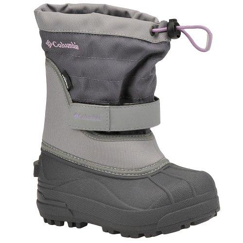 Columbia Powderbug Plus II Waterproof Winter Boot,Charcoal/Hydrangea,9 M US - Columbia Centre