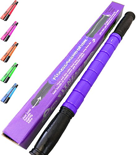 The Muscle Stick Original Muscle Roller | Muscle Roller Stick - The Stick All Purpose for Newbies - Original Purple