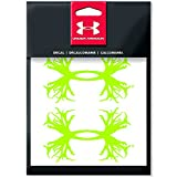 "Under Armour 4"" Antler Logo Decal (Velocity Green, Set of 2)"