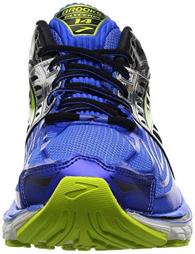 Brooks Hombres Glycerin 14 Electric Brooks Blue / Black / Lime Punch
