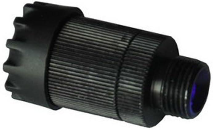 Black Basic Archery Supplies Fiber Optic LED Sight Light 3//8-32 Thread Rheostat Light with 3 Settings