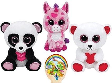 0d1667fde46 Amazon.com  Ty Beanie Boos Valentine CUTIE PIE Panda