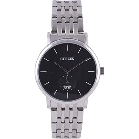 citizen Analog Black Dial Men's Watch-BE9170-56E Men's Watches at amazon
