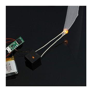 Encendedor electrónico del Transformador de Alto Voltaje del generador de Arco de DC 3V-5V para el Encendedor del Cigarrillo del USB: Amazon.es: Electrónica