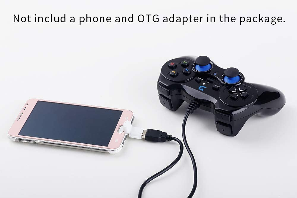 ZD-V+ USB Wired Gaming Controller Gamepad for PC/Laptop Computer(Windows XP/7/8/10) & PS3 & Android & Steam - [Black]: Computers & Accessories