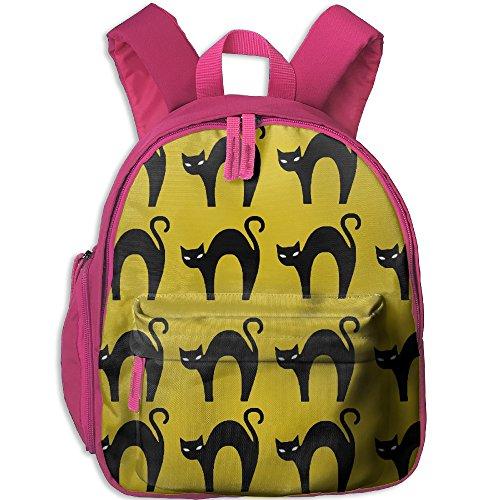 Kid's Unisex Halloween Cat School Backpack Bag (Taps Live Halloween 2017)