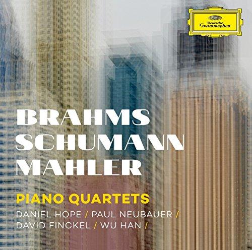 CD : DAVID FINCKEL - WU HAN - DANIEL HOPE - PAUL NEUBAUER - Piano Quartets - Brahms Schumann Mahler (CD)