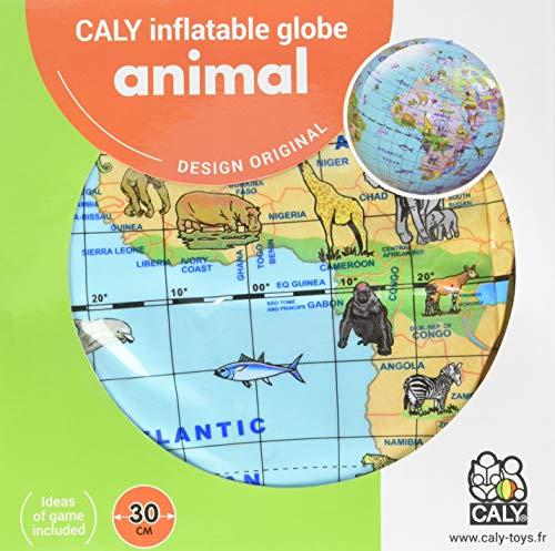 Inflatable Globe Animals 30cm ()