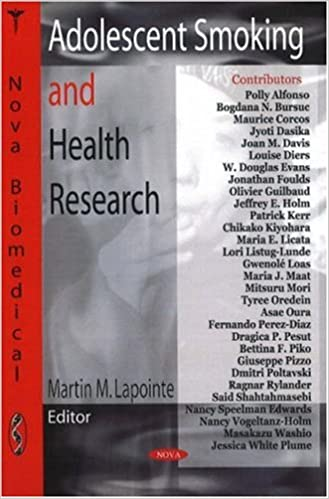 Adolescent Smoking and Health Research: 9781604560466: Medicine