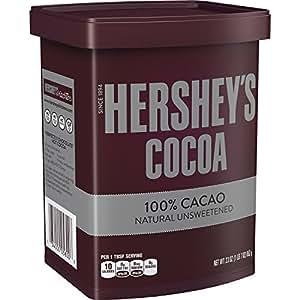 HERSHEY'S Unsweetened Cocoa, 23 Ounce