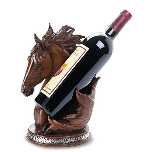 Accent Plus HORSE WINE BOTTLE HOLDER