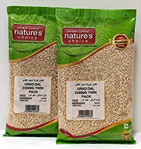 Natures Choice Urad Dal - 500 gms (Pack of 2)