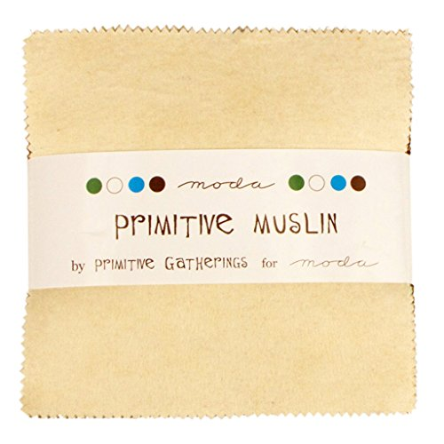Primitive Muslin Flannels Charm Pack By  - Muslin Quilt Fabric Shopping Results