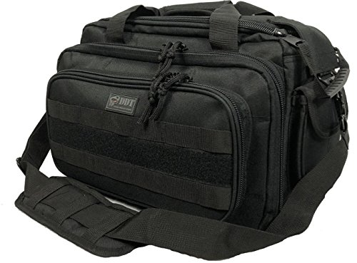DDT Ranger Soft Padded Range Bag (Black) - Outer Bag Dump