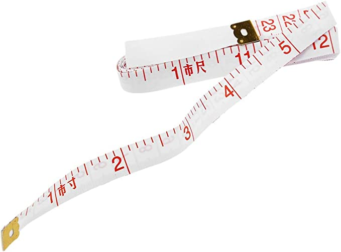 Morning May New 60 Tape Measure 1.5M Cloth Seam Flat and Soft