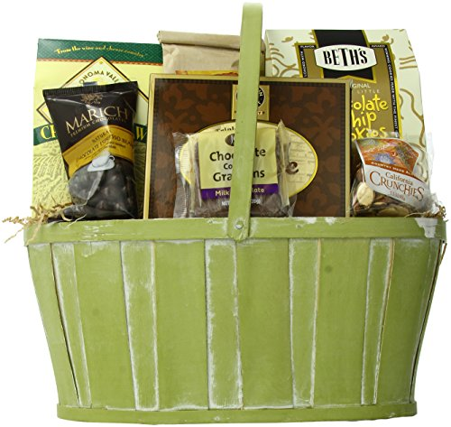California Delicious Snack Celebration Gourmet Gift Basket