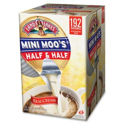 Land O Lakes Mini Moo's Half & Half Coffee Creamer Cups SO12