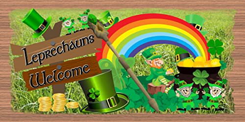 Leprechauns Welcome - St Patricks Day Sign