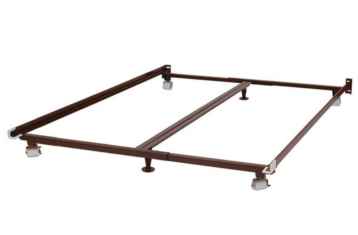 amazoncom metal bed frame (fits twin full queen king cal  - amazoncom metal bed frame (fits twin full queen king cal king) byknickerbocker  low profile bed frame kitchen  dining