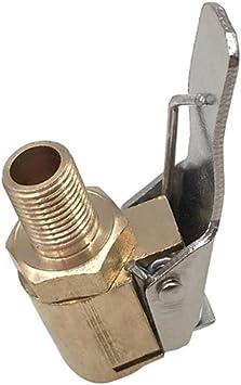 Mandrini Pneumatici per Pneumatici Adattatore per Ugello Filettato della Pompa Pneumatica per Auto Accessori per Pompa da Auto Ugello A Clip per Testa A Conversione Rapida