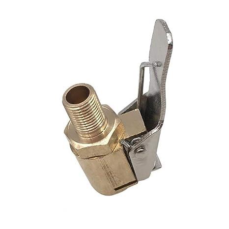 Katurn Boquilla de Inflado, Universal de la Cabeza 8mm, Adaptador de Boquilla de Rosca de Bomba de Aire de Automóvil