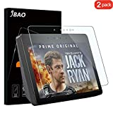 Jbao Direct compatible Amazon Echo Show 2 Screen Protector (2nd Generation), Premium Quality Tempered Glass [Anti-Scratch] [Anti-Fingerprint] HD/Bubble-Free Film for Amazon Echo Show 2 [2 Pack]