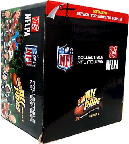 McFarlane Toys NFL Small Pros Series 2 Mini Figure Mystery BOX [32 Booster Packs]