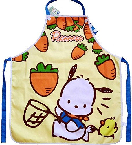 Pochacco Kitchen Gardening Adjustable Adult Cotton Apron with Pocket