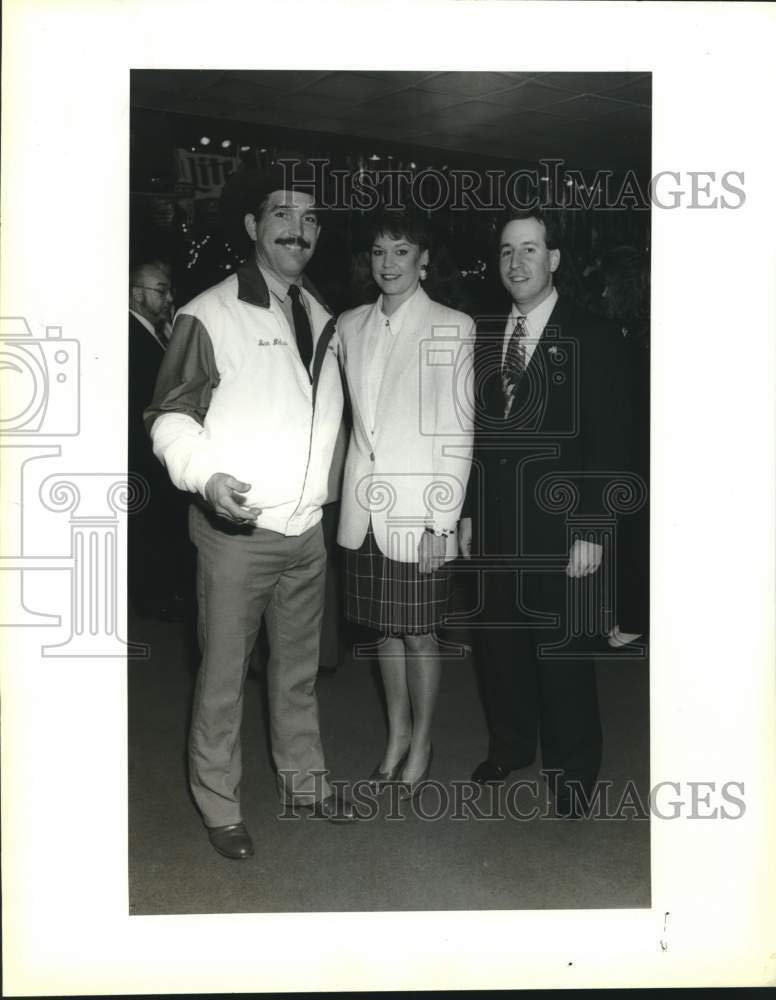 Vintage Photos 1992 Press Photo Attendees at Greater Chamber of Commerce Mixer, Texas