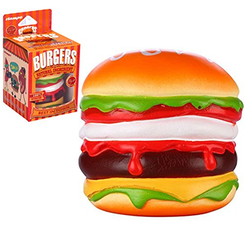 CutieLine Jumbo Slow Rising Squishy Beef Burger + $5.95 Value